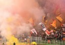 AS Roma - Fire on Curva Sud