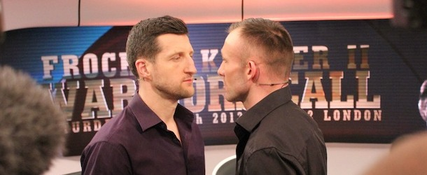 Next Boxing Highlight in 2013: Carl Froch vs George Groves